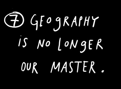geographyisnolongerourmaster
